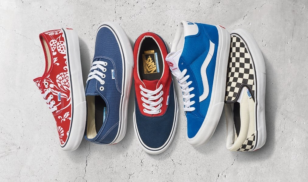 Look Book | VANS Pro Classics Anniversary Collection