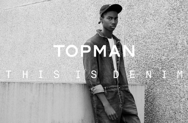 Ad Campaign | TOPMAN 'This Is Denim' Fall 2015 by Ben Toms