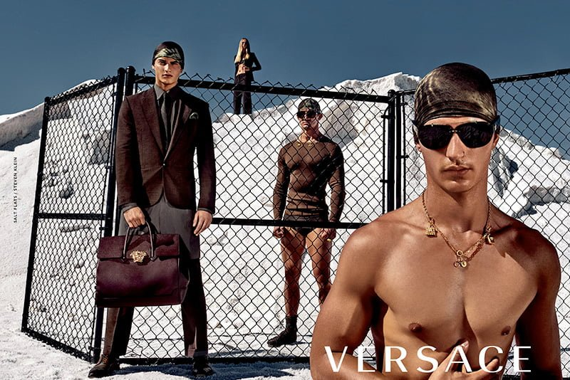 Ad Campaign| Versace S/S 2016 by Steven Klein