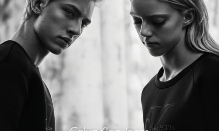 Ad Campaign | Calvin Klein Jeans Black Series Fall 2015 by Rory Payne
