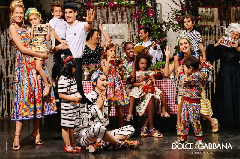 3ee51e20 Ad Campaign | Dolce & Gabbana S/S 2016 by Dominico Dolce & Stefano Gabbana