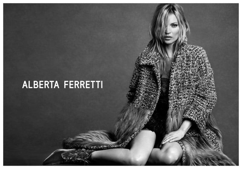 Ad Campaign | Alberta Ferretti F/W 2016 ft. Kate Moss by Luigi & Iango