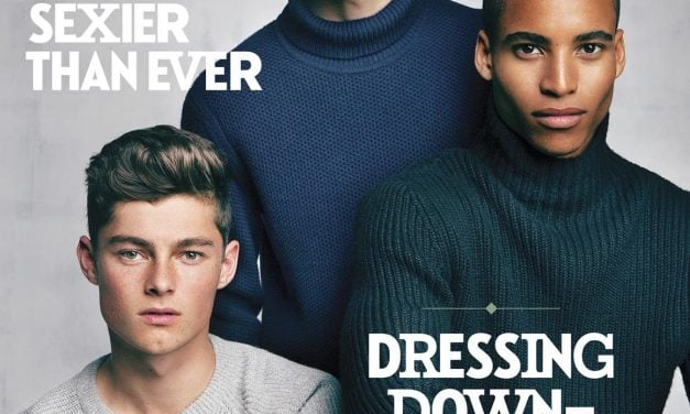 Cover | Men's FASHION Holiday 2015 by Ted Belton