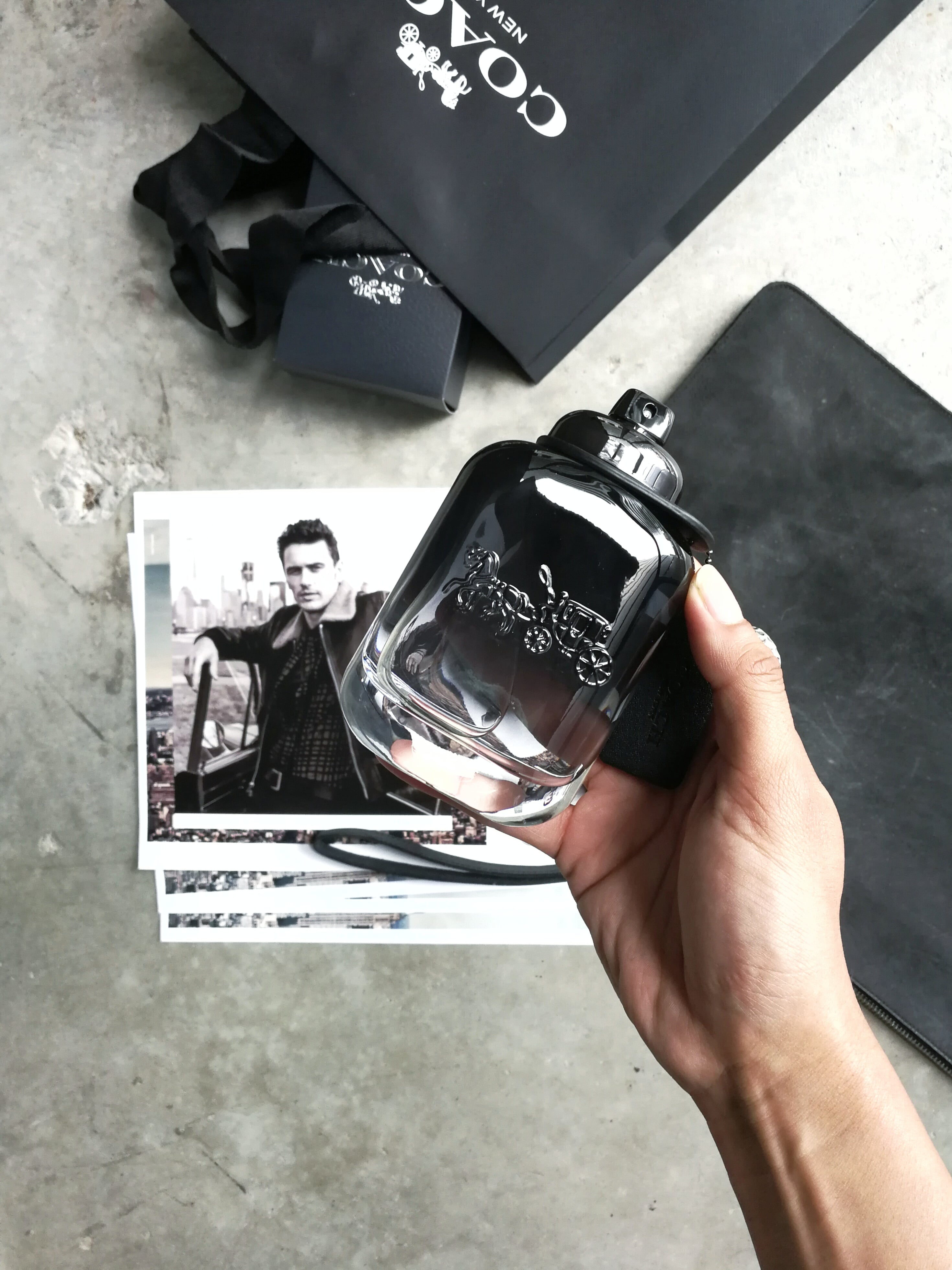 Beauty grooming coach for men fragrance ft james franco