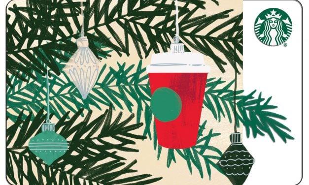 #FXMAS17 | Starbucks Canada $500 Gift Card